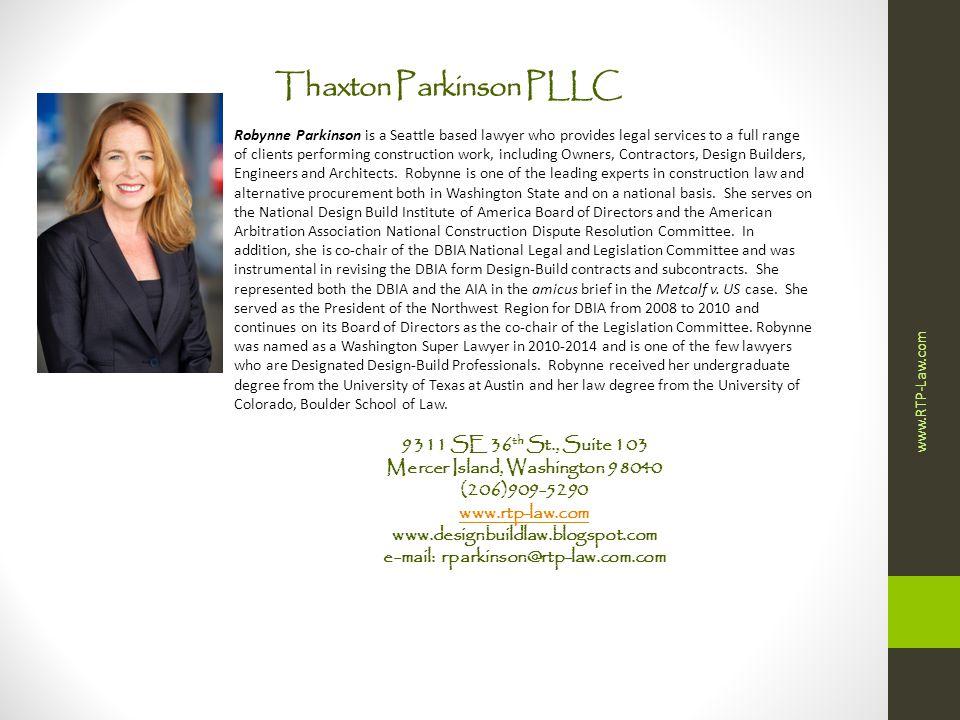 Thaxton Parkinson PLLC