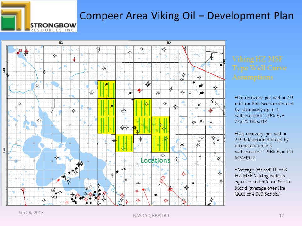 Compeer Area Viking Oil – Development Plan