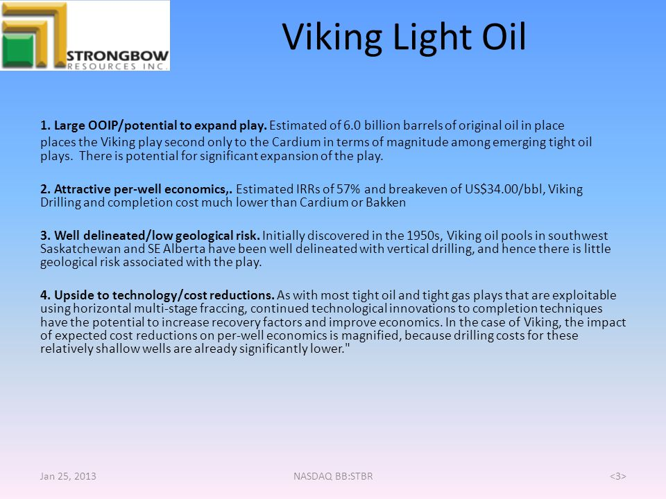 Viking Light Oil