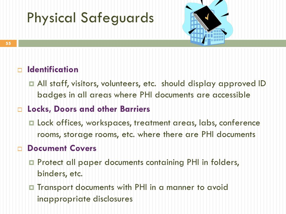 Physical Safeguards Identification