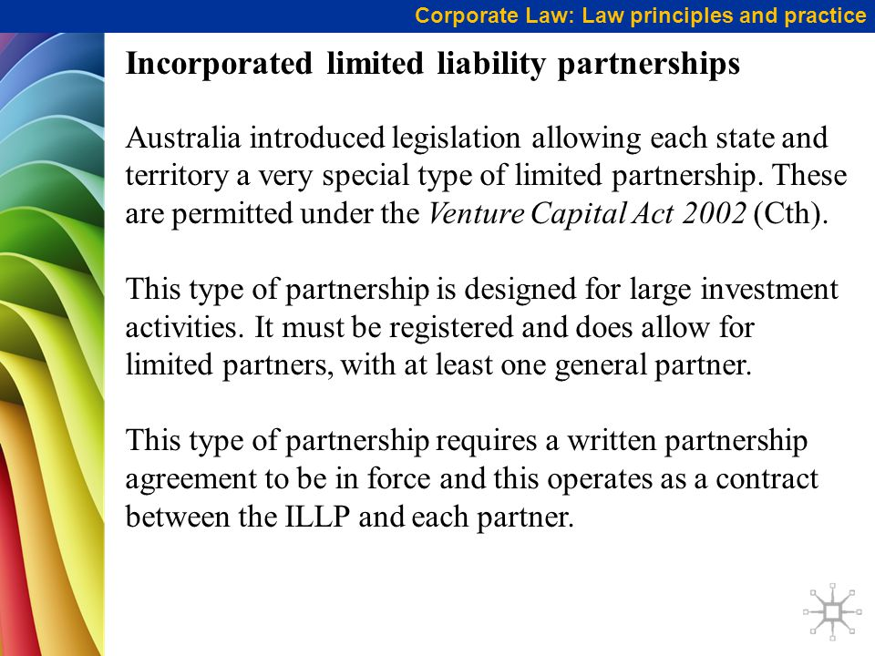 Incorporated limited liability partnerships