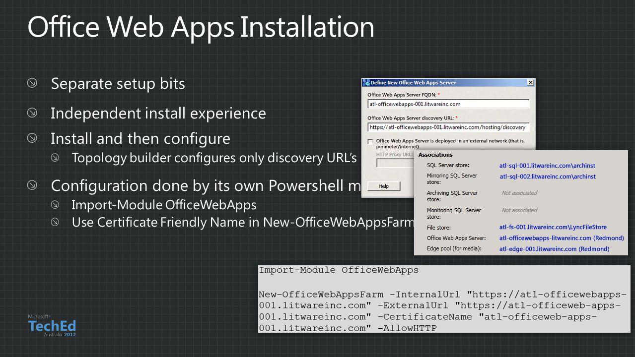 Office Web Apps Installation