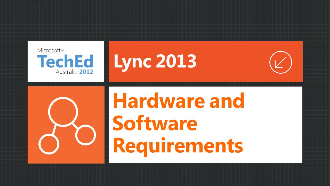 Hardware and Software Requirements