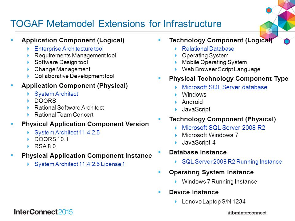 TOGAF 9.1 Extensions for Infrastructure by IBM