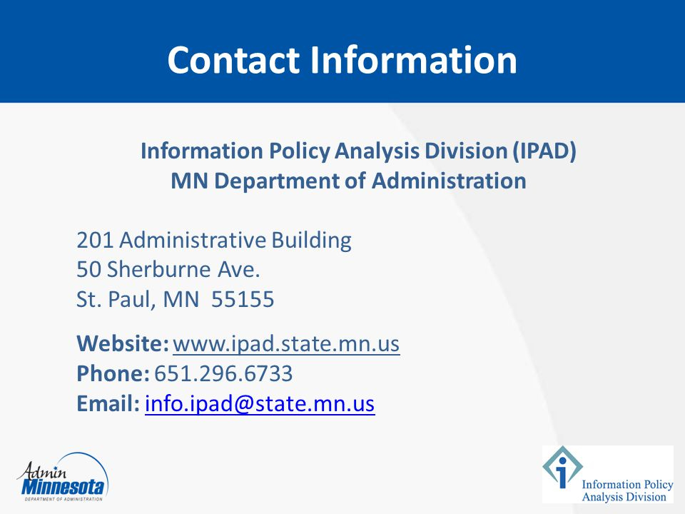 MN Department of Administration