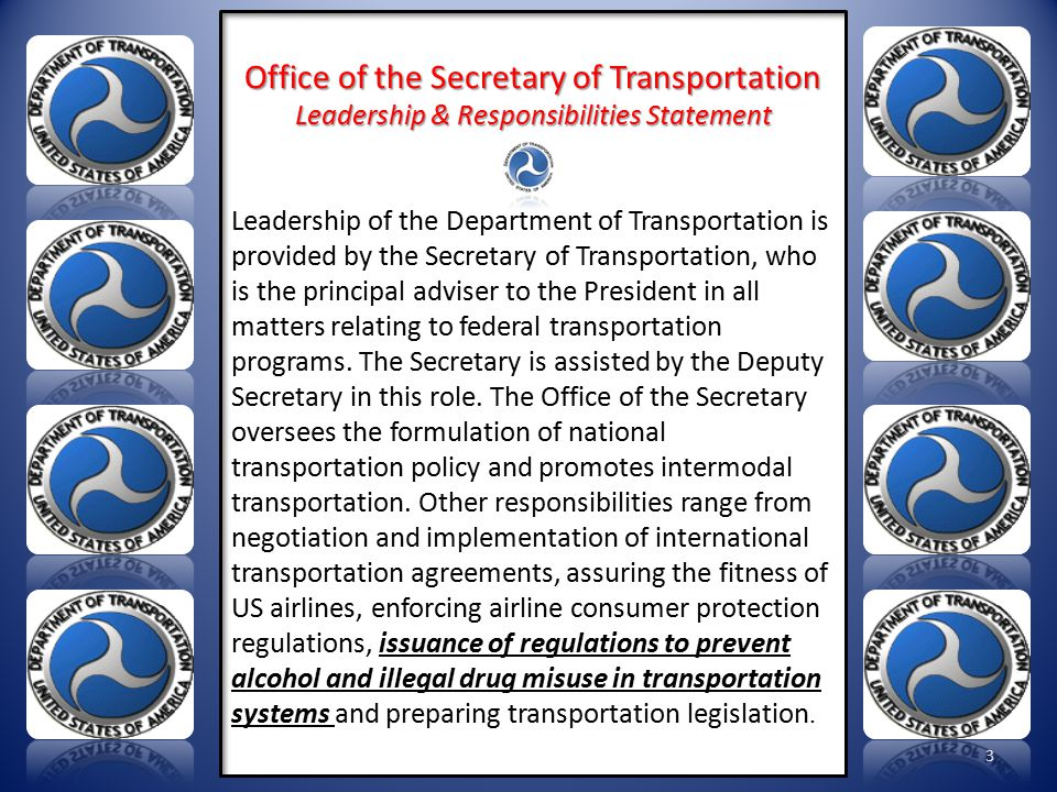 Here is the Secretary's mission statement