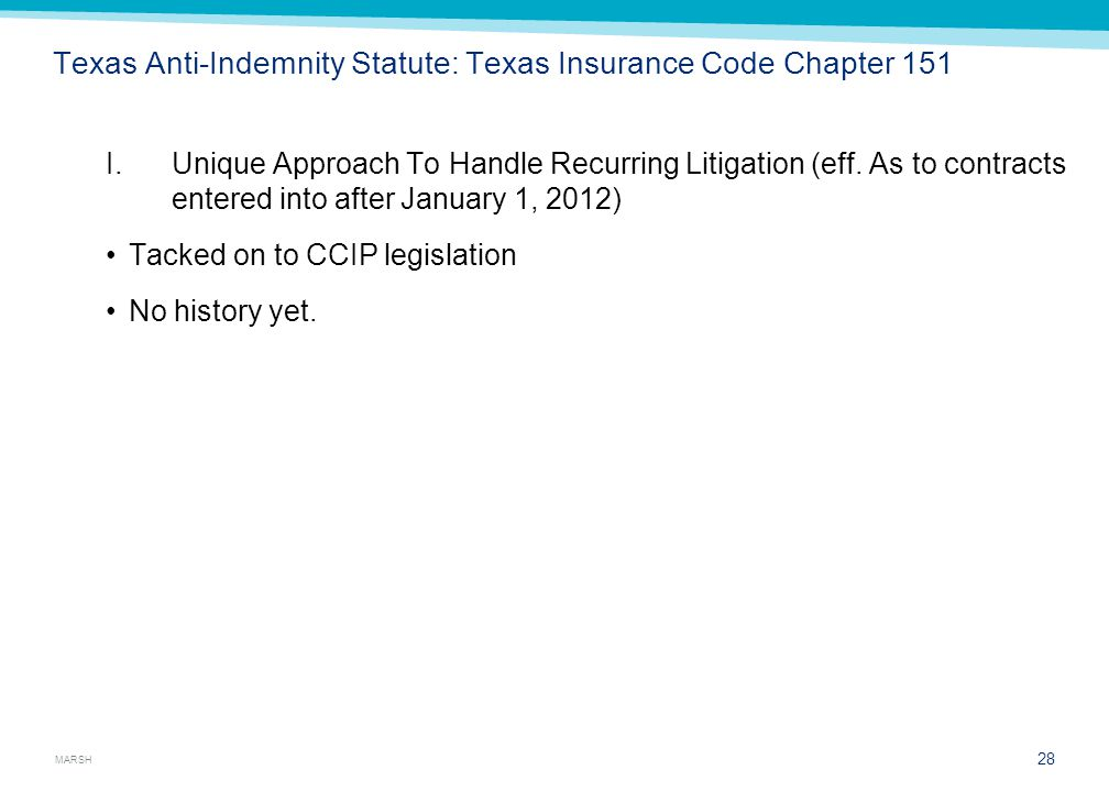 Texas Anti-Indemnity and AI Legislation – Chapter 151