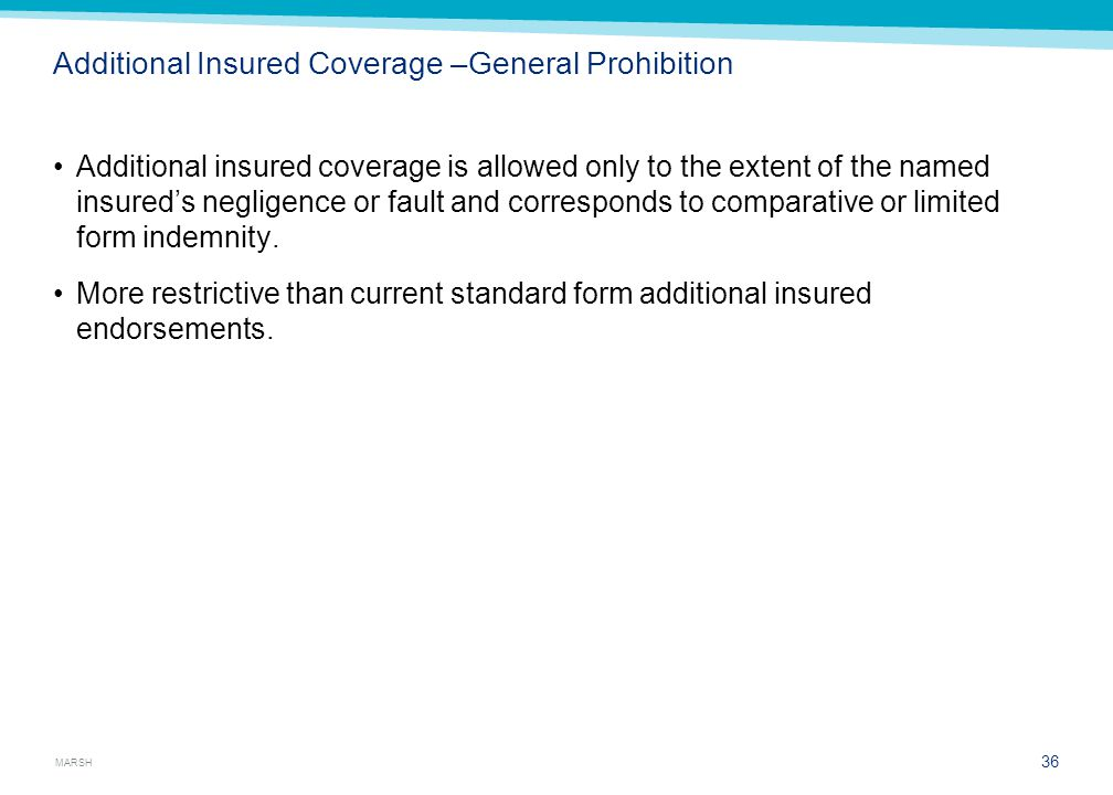 Additional Insured Exception: Employee Injuries
