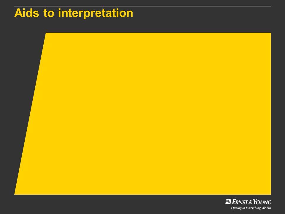 Aids to interpretation