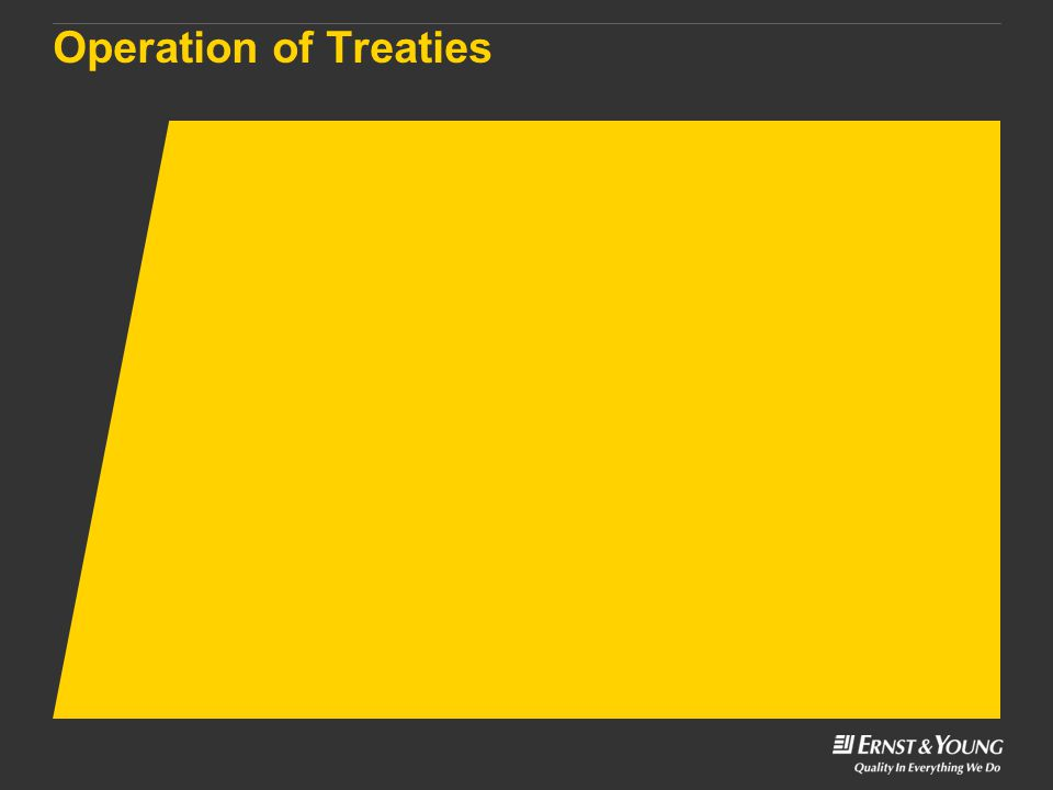 Operation of Treaties