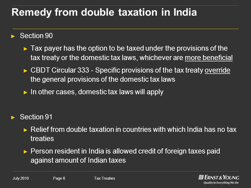 Tax treaties international scenario and india relevance amarpal remedy from double taxation in india sciox Gallery
