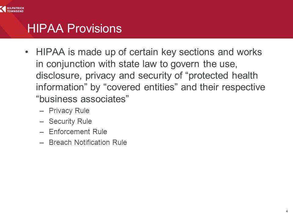 HIPAA Provisions
