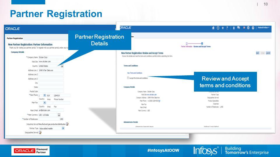 Partner Registration Partner Registration Details