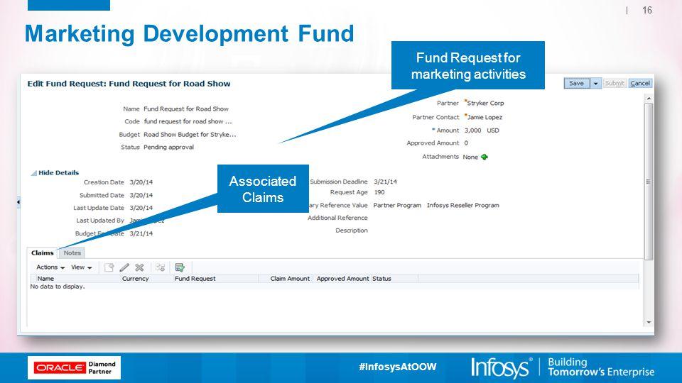 Marketing Development Fund