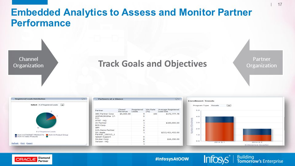 Embedded Analytics to Assess and Monitor Partner Performance