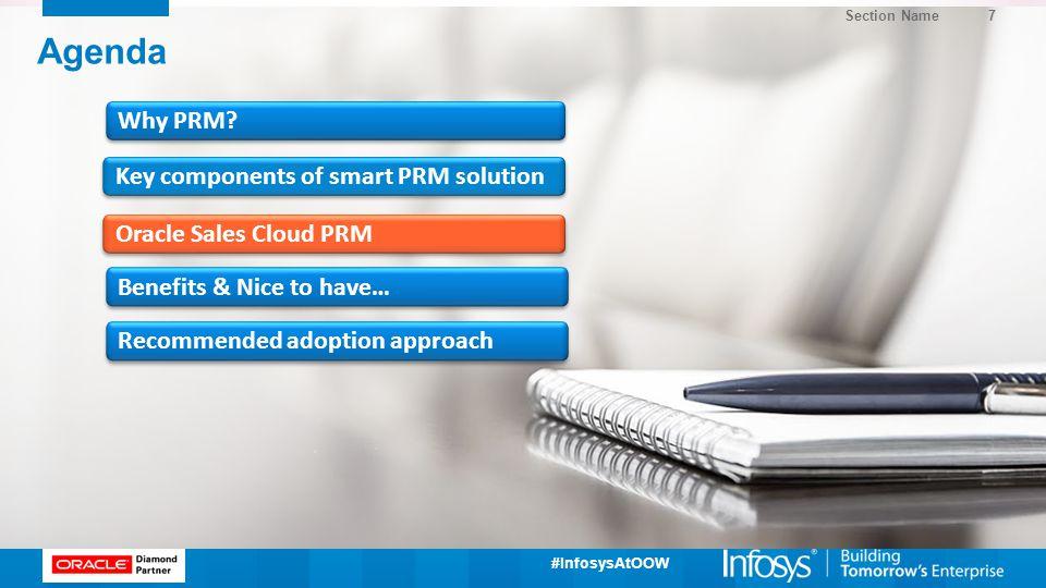 Agenda Why PRM Key components of smart PRM solution