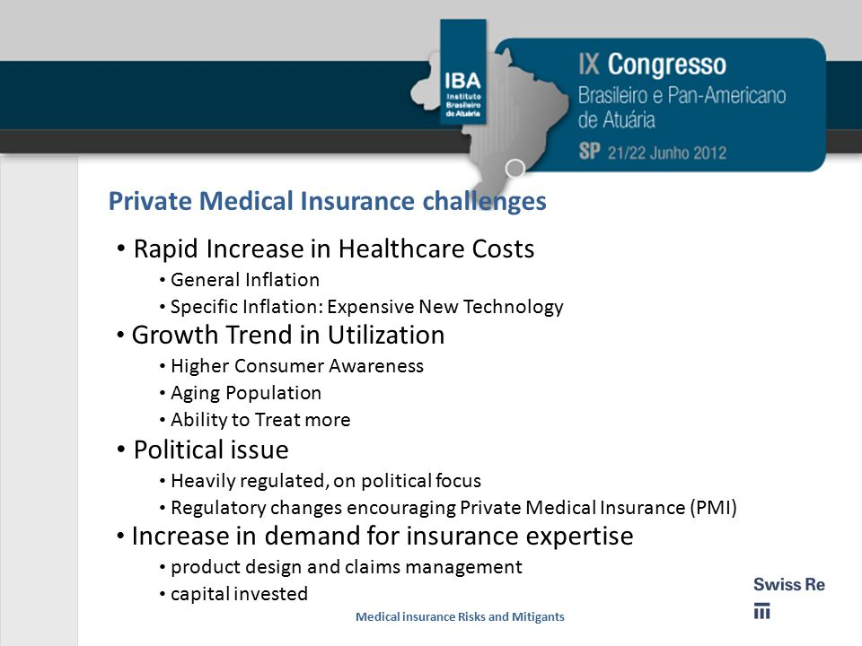 Private Medical Insurance challenges