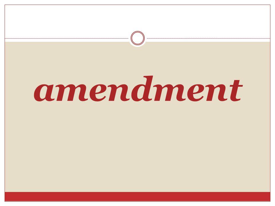 amendment Vocabulary Builder Page 72: