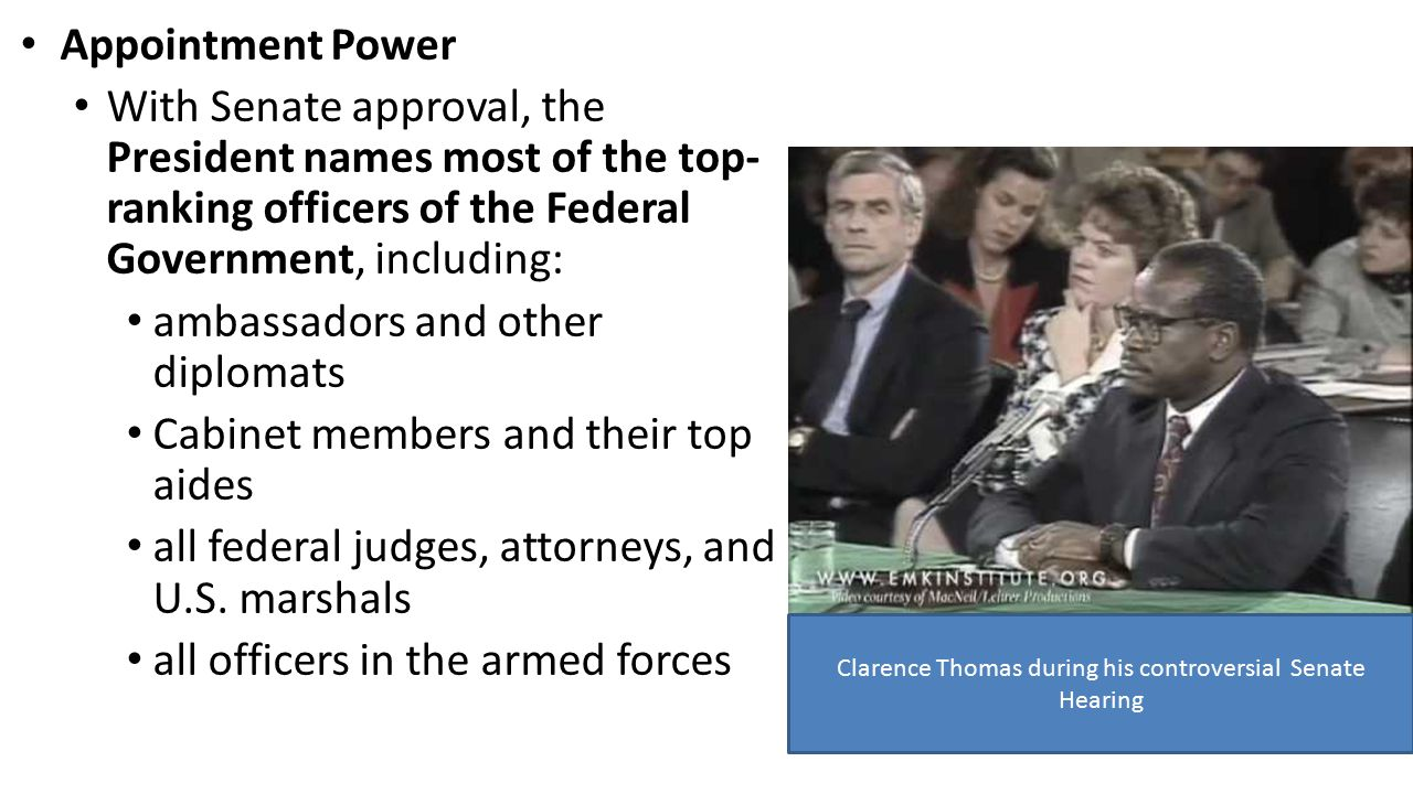5.3 Powers of the President - ppt video online download
