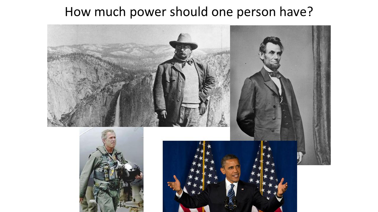 How much power should one person have