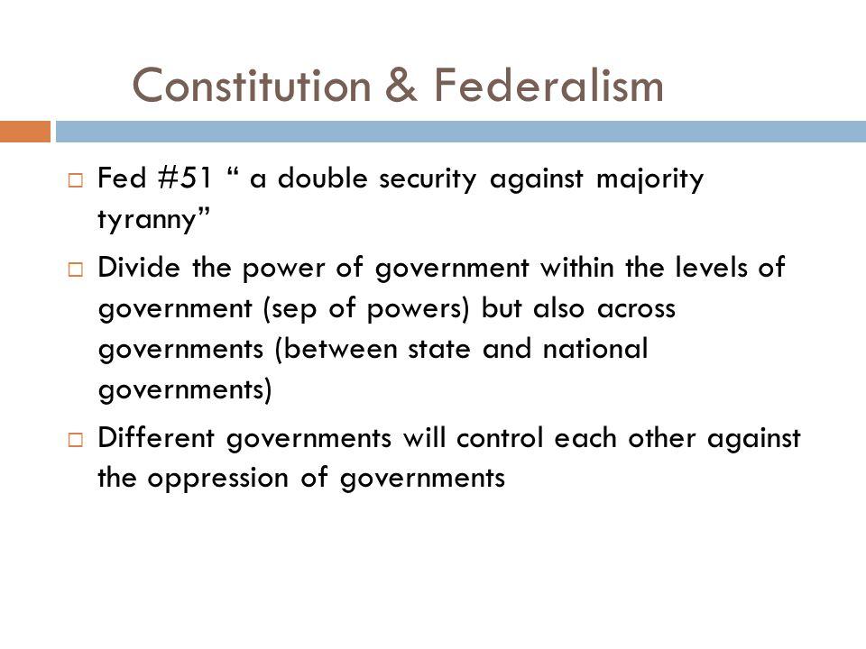 Constitution & Federalism
