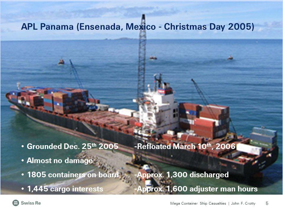 APL Panama (Ensenada, Mexico - Christmas Day 2005)