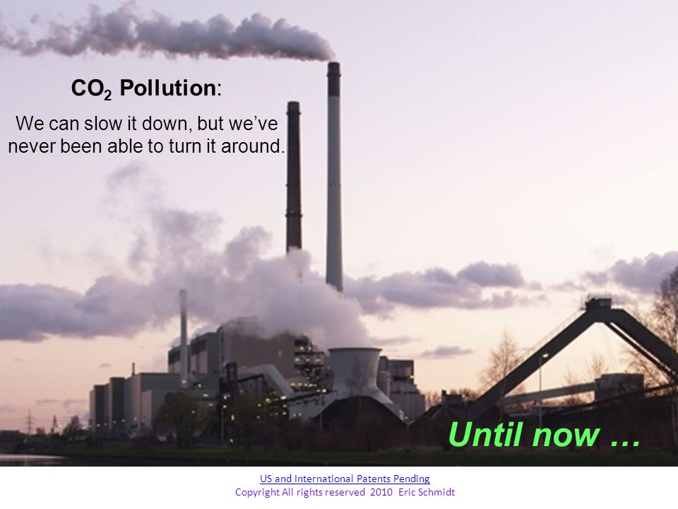 Until now … CO2 Pollution: