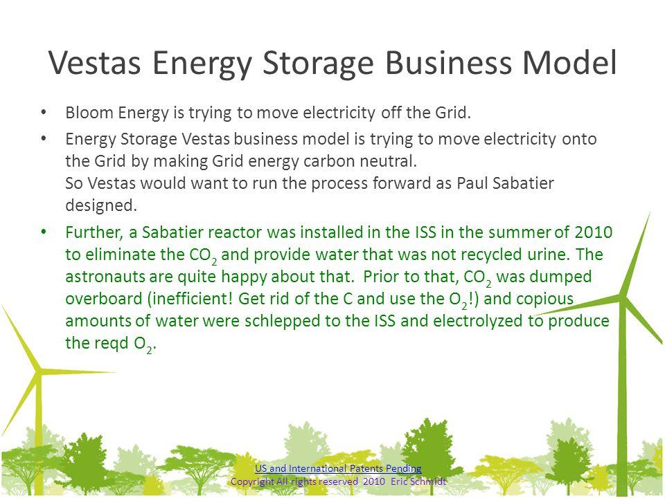 Vestas Energy Storage Business Model