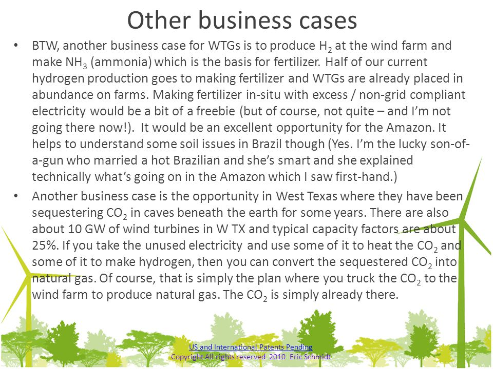 Other business cases