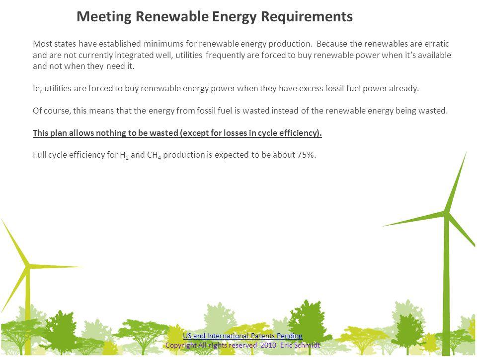 Meeting Renewable Energy Requirements