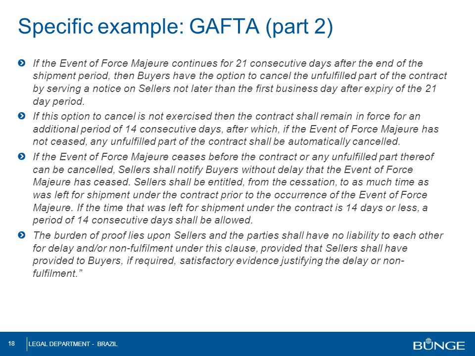 Specific example: GAFTA (part 2)