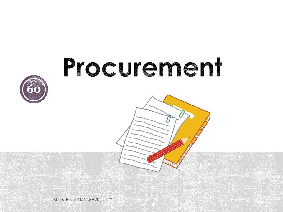 Procurement BRUSTEIN & MANASEVIT, PLLC