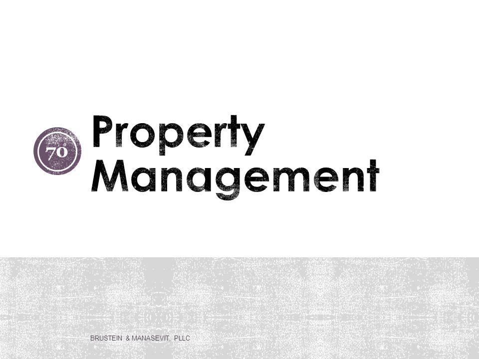 Property Management BRUSTEIN & MANASEVIT, PLLC