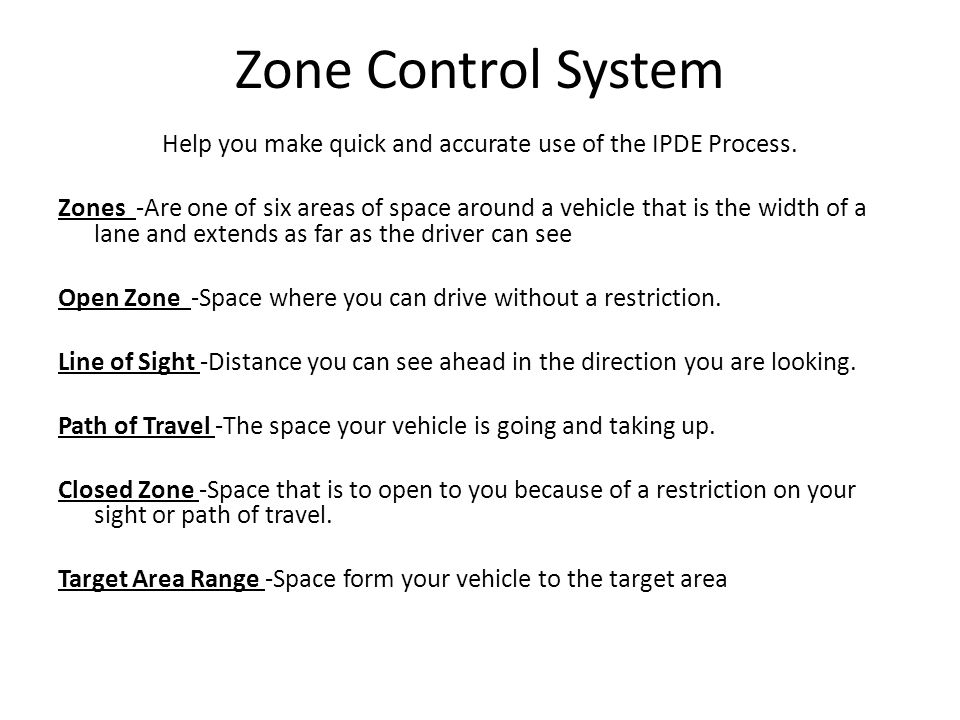 Help you make quick and accurate use of the IPDE Process.