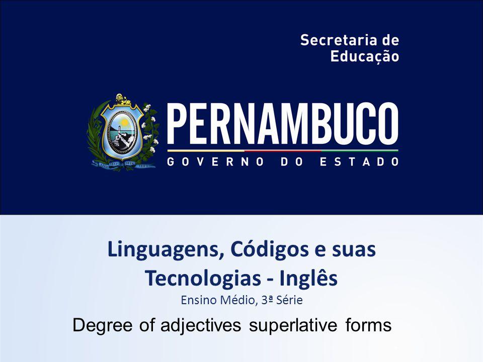 Linguagens, Códigos e suas