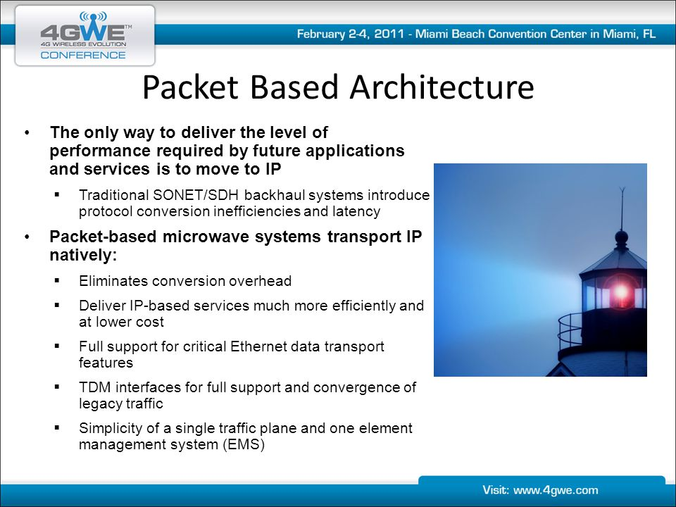 Packet Based Architecture