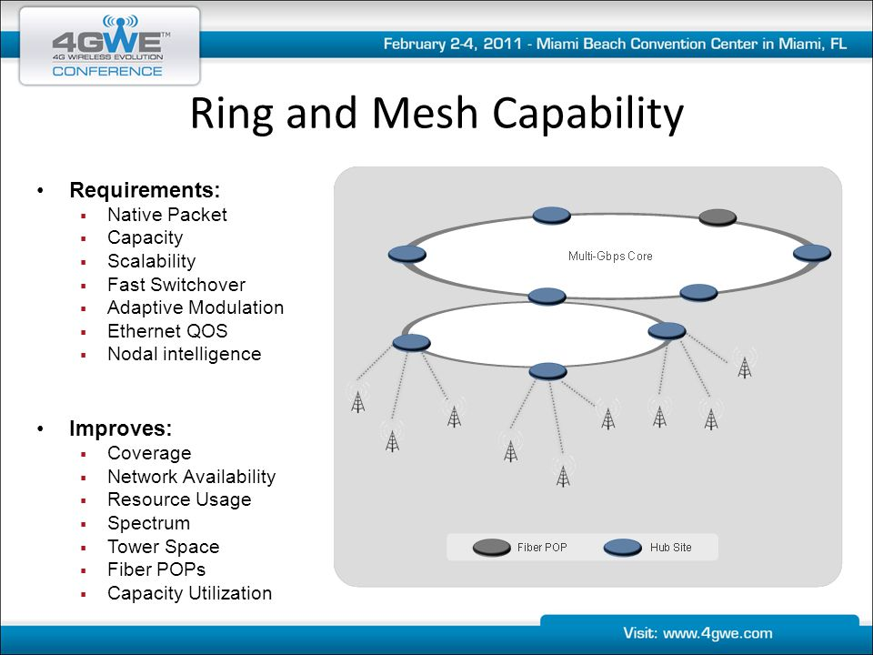 Ring and Mesh Capability