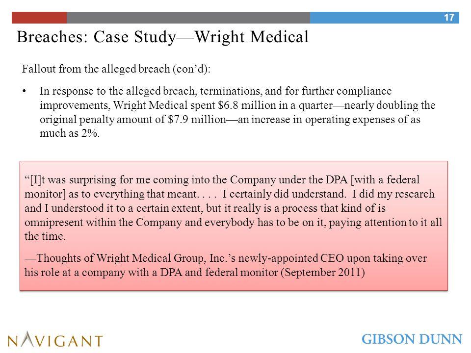 Breaches: Case Study—Bristol-Myers Squibb Co.