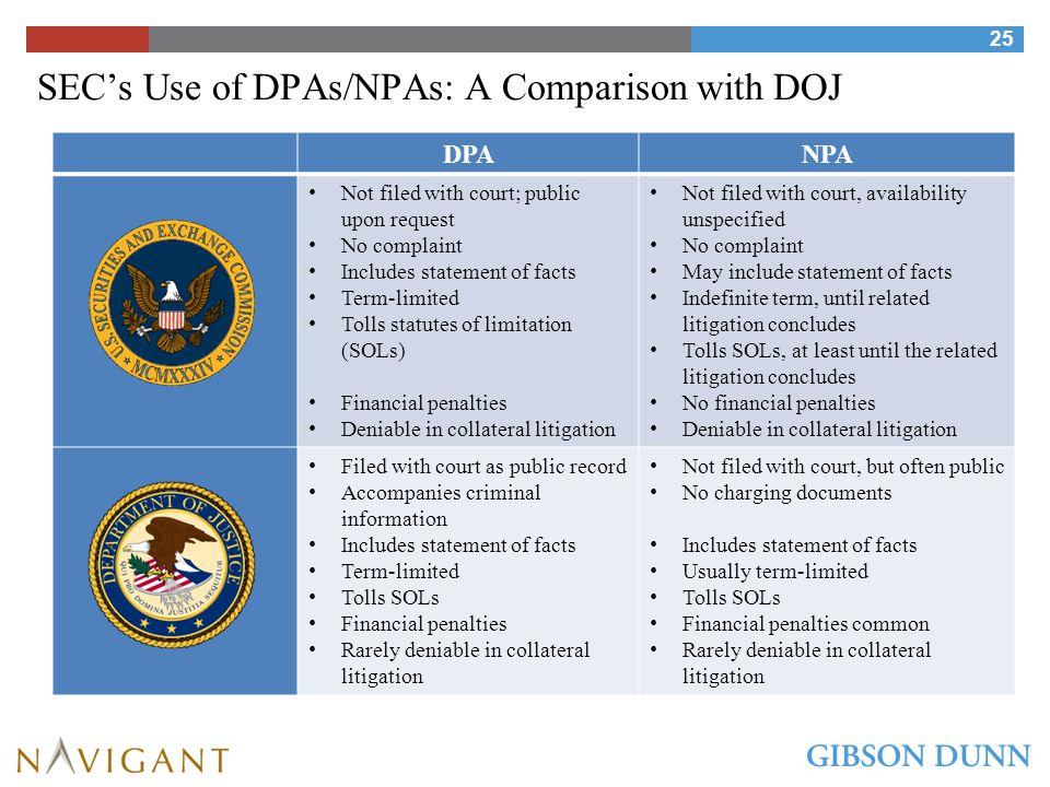 Response & Remediation: Earning a DPA, NPA, or Declination