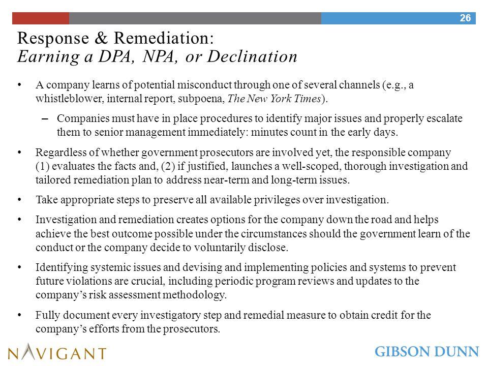 Response & Remediation: Investigation Considerations