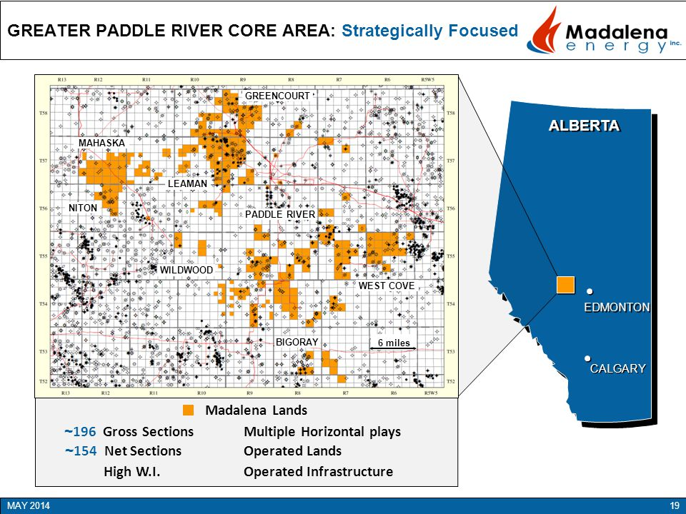 GREATER PADDLE RIVER CORE AREA: Strategically Focused