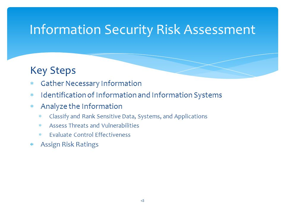 Information Security Risk Assessment