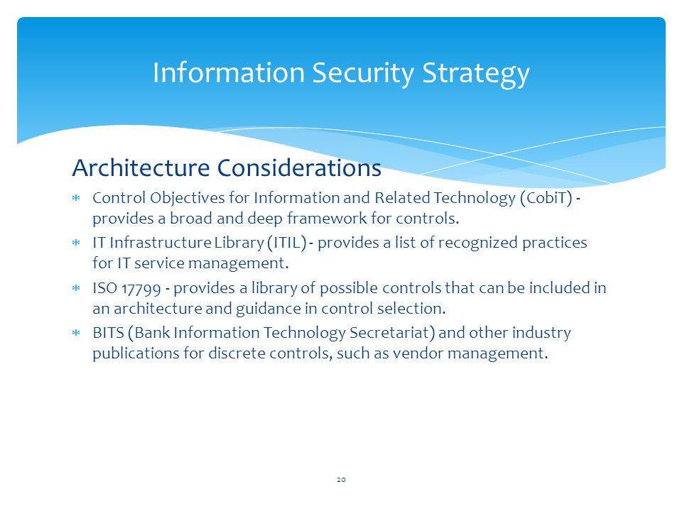 Information Security Strategy