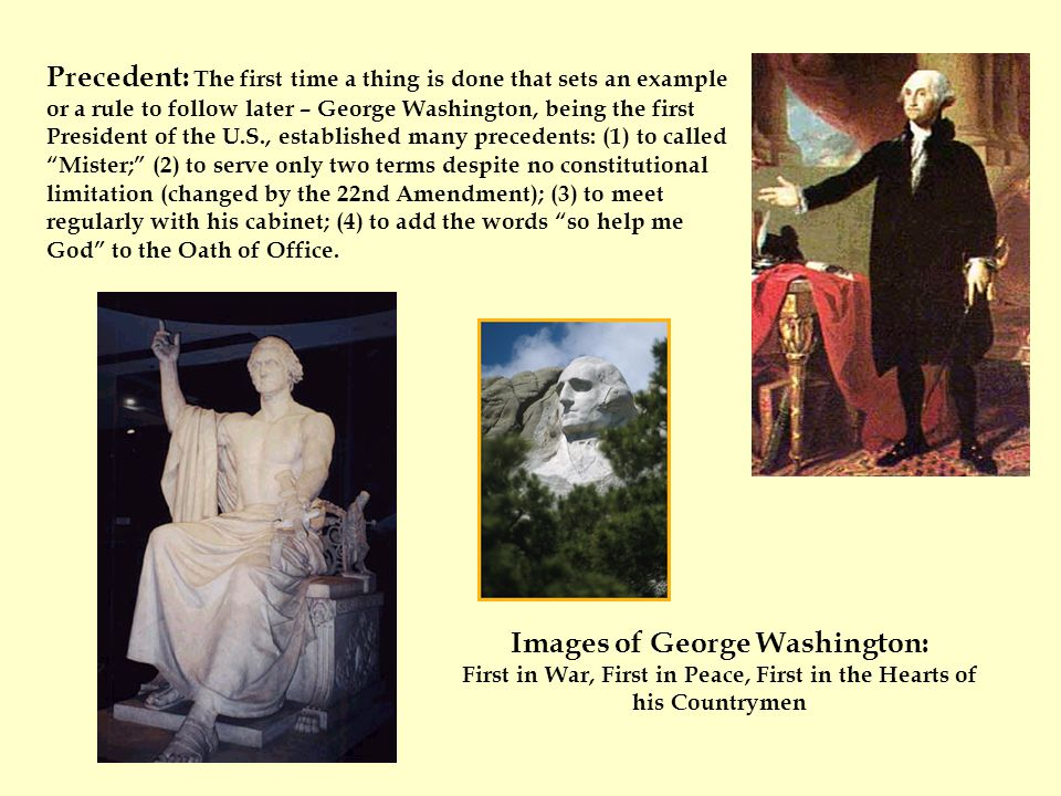 Images of George Washington: