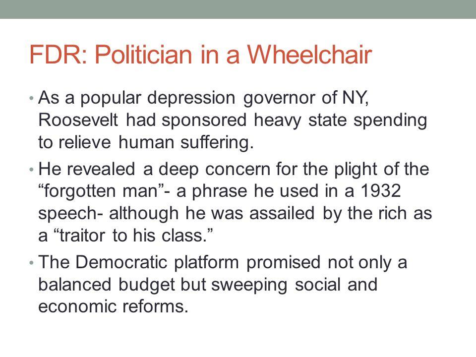 FDR: Politician in a Wheelchair