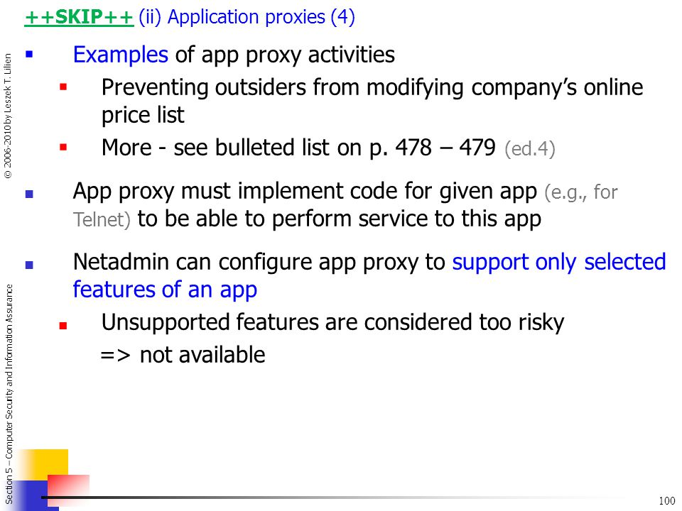 Examples of app proxy activities