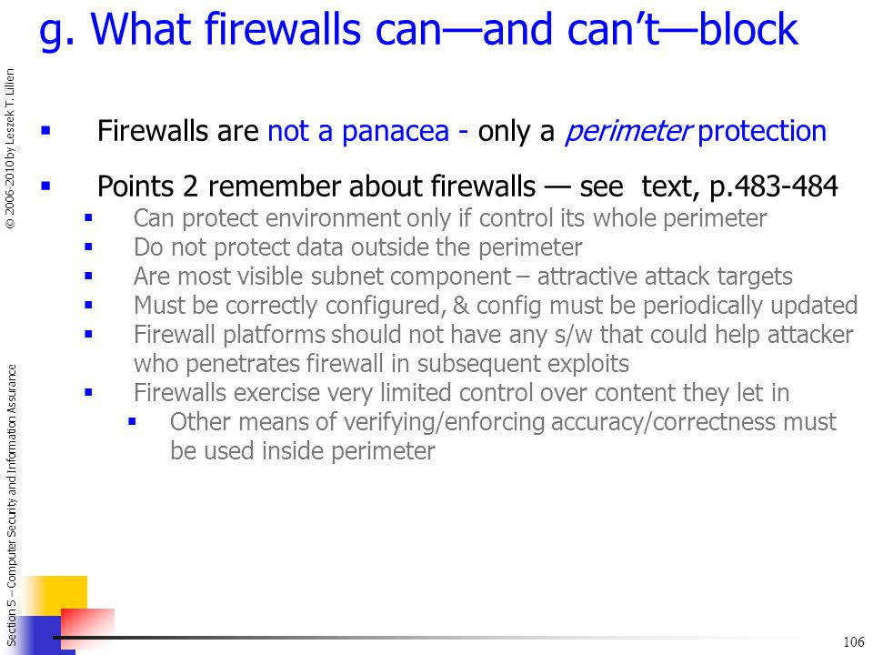 g. What firewalls can—and can't—block