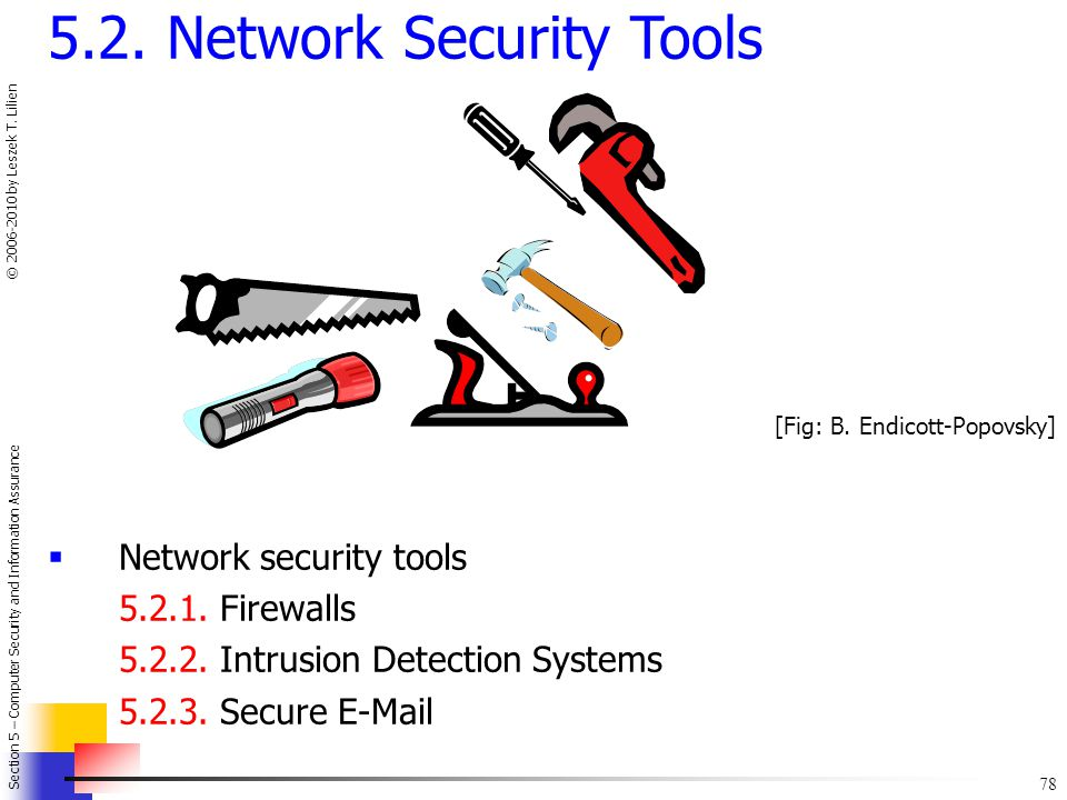 5.2. Network Security Tools