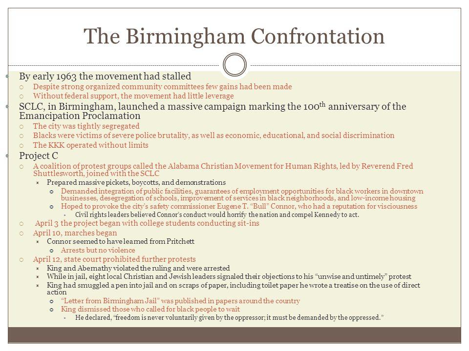 The Birmingham Confrontation
