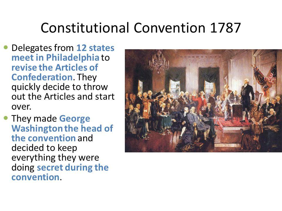 Constitutional Convention 1787